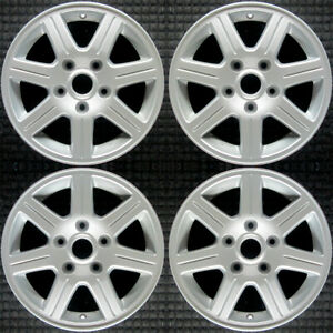 Set 2012 Chrysler Town And Country Oem Factory Zx30dslag Silver Wheels Rims 2400