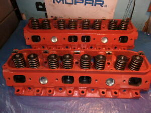 Mopar 440 Heads Rebuilt 906 2 08 1 88 Ported Dodge Plymouth Bolt On Ready
