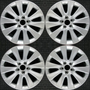 Set 2005 2006 2007 2008 2009 2010 2011 Honda Accord Oem 18 Oe Wheels Rims 63937