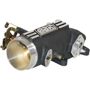Bbk 1780 Throttle Body Power Plus Stock Flange 78mm Single Blade Al Black