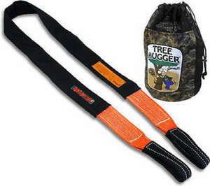 Bubba Tow Rope Tree Strap Tree Hugger 3 wide 10 Ft L 47000lb Polyester