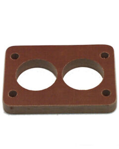 Canton 85 032 Carburetor Spacer 1 2 In Thick 2 Hole Rochester 2 Barrel Phenolic