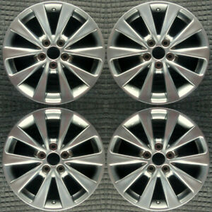 Set 2015 2016 2017 Toyota Camry Oem Factory 4261a06040 Light Wheels Rims 75170