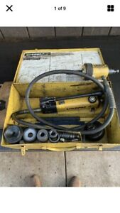Enerpac Hydraulic Knockout Punch Set
