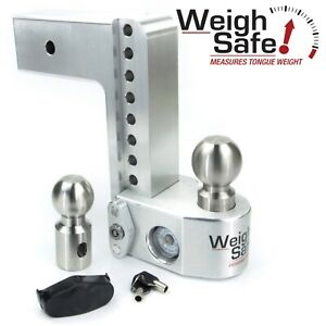 Weigh Safe Ws8 3 8 Drop Hitch Built In Scale For 3 Receiver 2