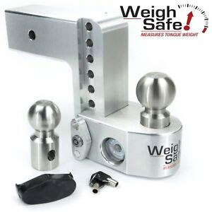 Weigh Safe Ws6 3 6 Drop Hitch Built in Scale For 3 Receiver 2