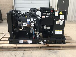 35 Kw Generator Propane Natural Gas 2016 35 Hours 120 240 Volt Single Phase Sg35