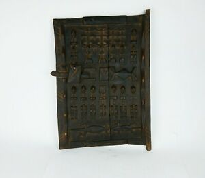 African Dogon Door Carved Wood Granary Door Dogon Tribe Mali West Africa