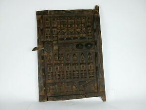African Dogon Door Granary Door African Art Wood Carved Door