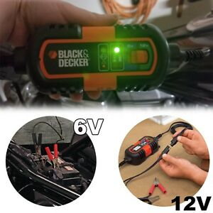 Battery Charger Maintainer 6v And 12v Automatic Stop Car Automotive