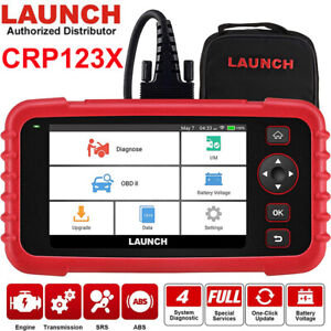 Launch Universal Obd2 Scan Tool Obdii Car Diagnostic Scanner Code Reader Tool