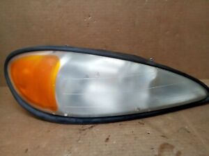 2002 Pontiac Grand Am Front Right Passenger Side Head Light Lamp 114 02683r