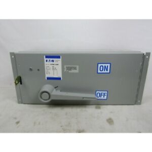 Eaton Fdpbs364f Deadfront Switch 200a 600v 50 60hz