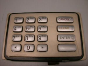 Used Nautilus Hyosung Atm Machine Keypad Epp 5000k gold