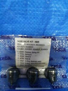 34260 Valve Kit For Cat Pump 5dx 6dx 66dx Pump 3 Valves priority Shipping