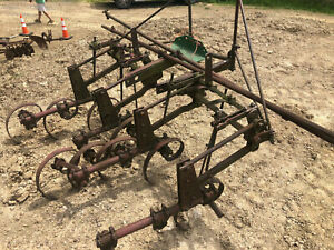 John Deere B Tractor Cultivators Spring Tooth Type Stand A G H 50 40 60 M