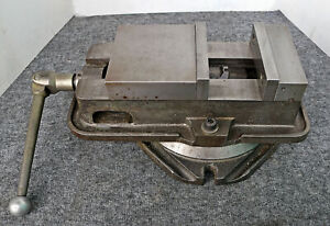 Kurt 6 Anglock Milling Vise With Swivel Base D60