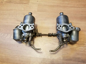 Volvo 1957 Su Carburator Set Auc835