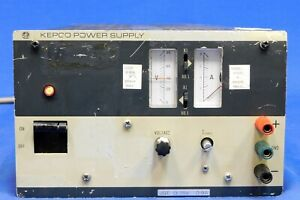 Kepco Jqe75 8m Dc Power Supply 75v 8a Untested Item As Is