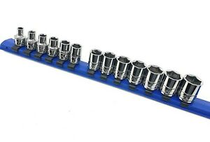 New Blue Point Tools 13 pc 3 8 Dr 6 pt Sockets
