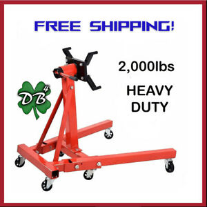 2000 Pound Folding Engine Stand Local Pick up Only