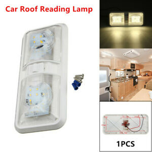 1 Car Ceiling 48led Light Auto Roof Reading Lamp Camper Rv Boat Indoor Lighting