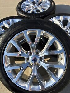 22 22 Inch Ford Expedition F 150 Factory Oem Rims Rines Wheels 2019 10145