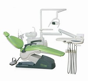 Tj2688 B2 Dental Unit Chair Fda Ce Approved Computer Controlled Hard Leather Lov