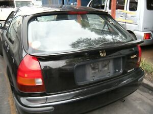 Jdm Honda Civic Ek9 Hatchback Rear Tailgate Middle Wing Spoiler Oem