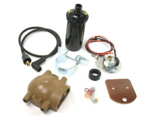 Pertronix Ignitor Conversion Kit Fits Ford 4 cylinder P n 1247xt