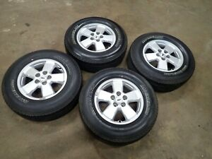 4 Oem Ford Escape Wheels And 235 70 16 Michelin Latitude Tires 8 5 32 8l841007ad