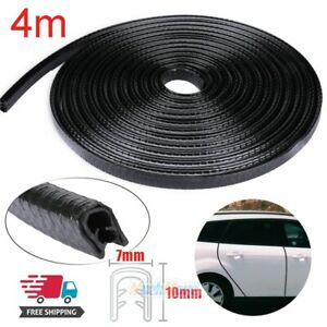 4m Car Door Seal Strip Rubber Weatherstrip Protector Edge Trim Guard Pinchweld