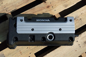 Honda K24 K20 Type R Accord Civic Rsx Valve Cover Powder Coated In Black Wrinkle