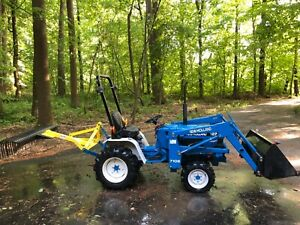 Ford New Holland 1220 Tractor W Loader And Attachments Low Hours
