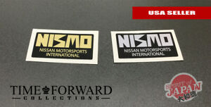 3x Vintage Nismo Strut Bar Sticker Decal Vinyl Gtr Skyline S13 R32 240sx Old