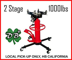 2 Stage Telescoping Transmission Jack 1000 Lbs Cap Max Lifting 1 2 Ton