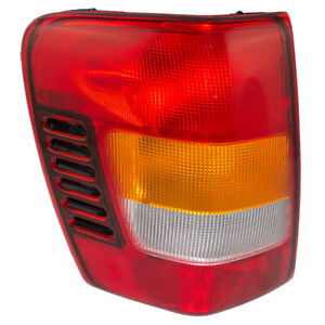 Tail Light Assembly For 02 04 Jeep Grand Cherokee Drivers Lens W Circuit Board