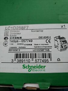 Schneider Electric Contactor Lc1d258f7