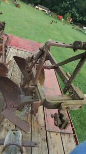 3 point Hitch 2 bottom Plow Used Condition