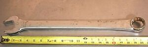 Snap on Tools Model No Oex48 1 1 2 12 point Combination Wrench