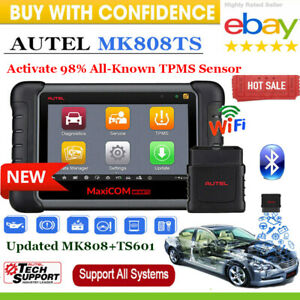 Autel Maxicom Mk808ts Tpms Advance Maxisys Auto Car Key Tpms Program Full System