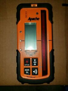New Apache Storm Laser Level Receiver Same As Spectra Hl700 topcon rugby