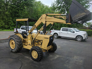 Ford New Holland 345c Tractor Loader
