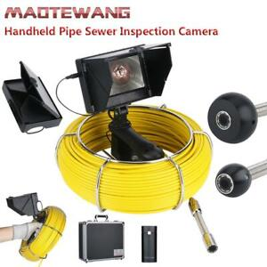 4 3 tft Lcd 30m 145 1000tvl Pipe Sewer Drain Inspection Video Detection Camera