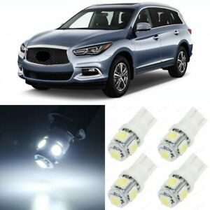 15 X Xenon White Interior Led Lights Package For 2013 2019 Infiniti Jx35 Qx60
