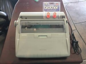 Brother Sx 4000 Daisywheel Electronic Dictionary Typewriter