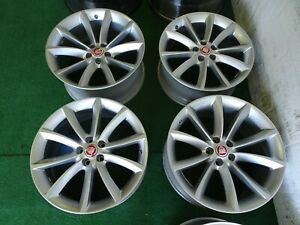 4 Jaguar F Type Propellor Oem Factory 19 Wheels Rims 5x108 19x8 5 19x9 5
