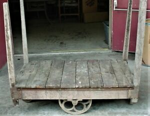 Antique Brickyard Cart From 1930 S