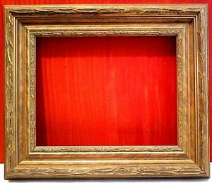 11 X 14 Standard Picture Frame Classic Carved Gold Leaf 2 3 4 Wide W Allow