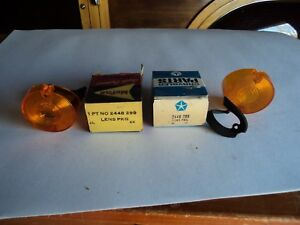 1963 And 1964 Dodge Dart And Plymouth Valiant Amber Park Lens In Amber